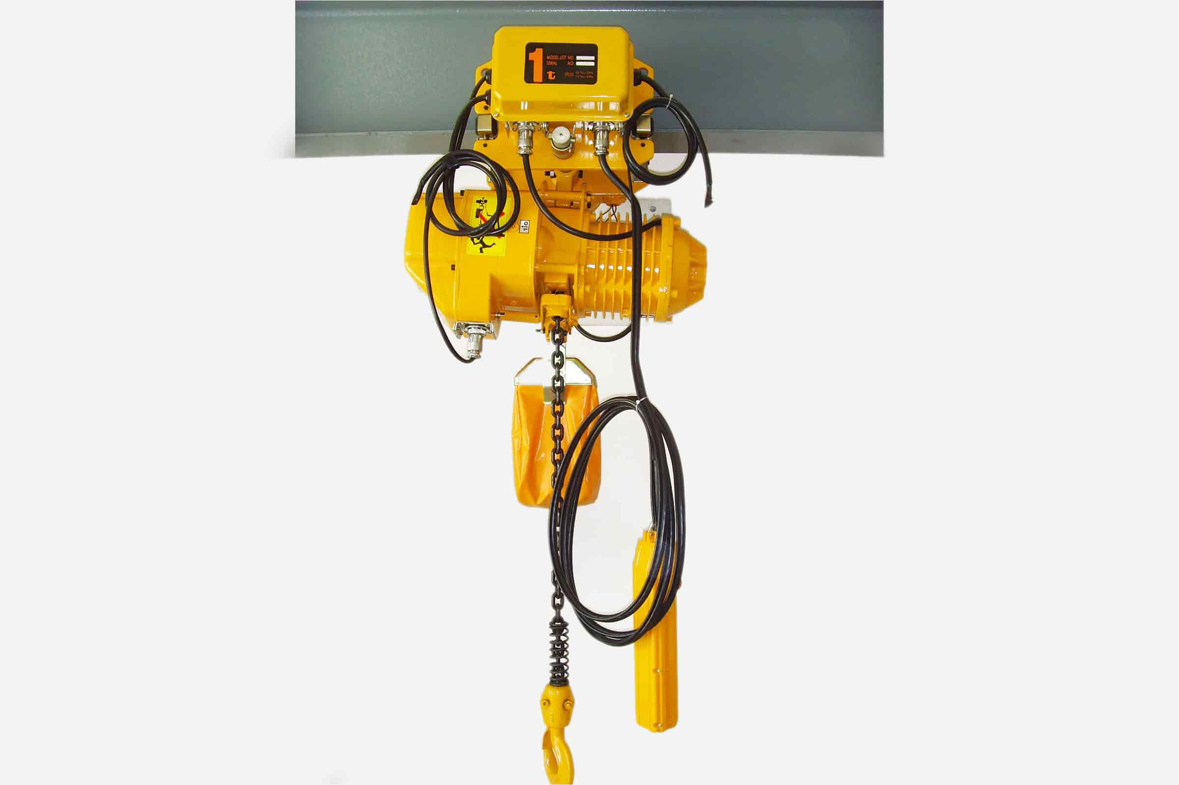 chain hoist:Hoist double speed low noise smooth operation